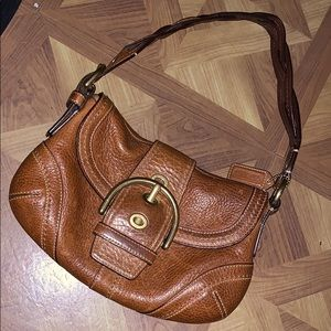 Good condition Coach  leather shoulder bag